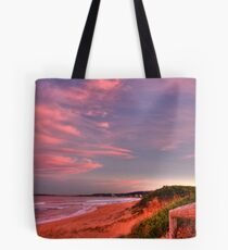 Glowing Hill Tote Bag