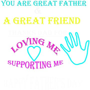 great daddy for father's day gift by kaunjunetwork