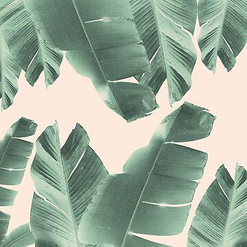Banana Leaves Tropical Vibes #2 #foliage #decor #art by anitabellajantz