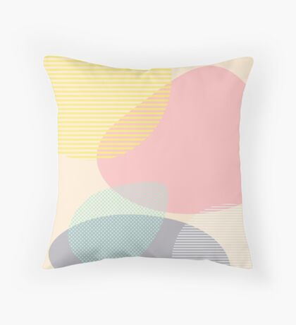 Lost In Shapes #redbubble #buyart Throw Pillow