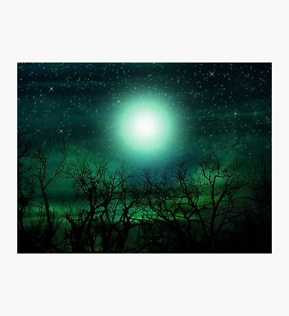 By The Light Of The Moon Photographic Print