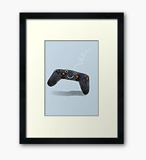 Cute gaming Framed Print