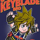 Super Keyblade Bro by Paula García
