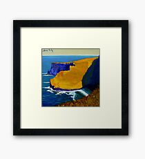 Cliffs of Moher III, Clare, Ireland Framed Print