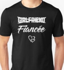 Engagement Girlfriend Fiancee Shirt Married Wedding Gift Unisex T-Shirt