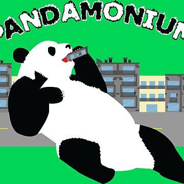 Pandamonium by FlyNebula