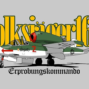 HE 162 Volksjager by siege103