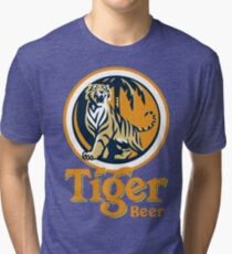 Tiger Beer Tri-blend T-Shirt