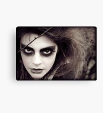 The Ravens Rag Doll Canvas Print