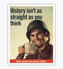 Pegatina Historia Queer