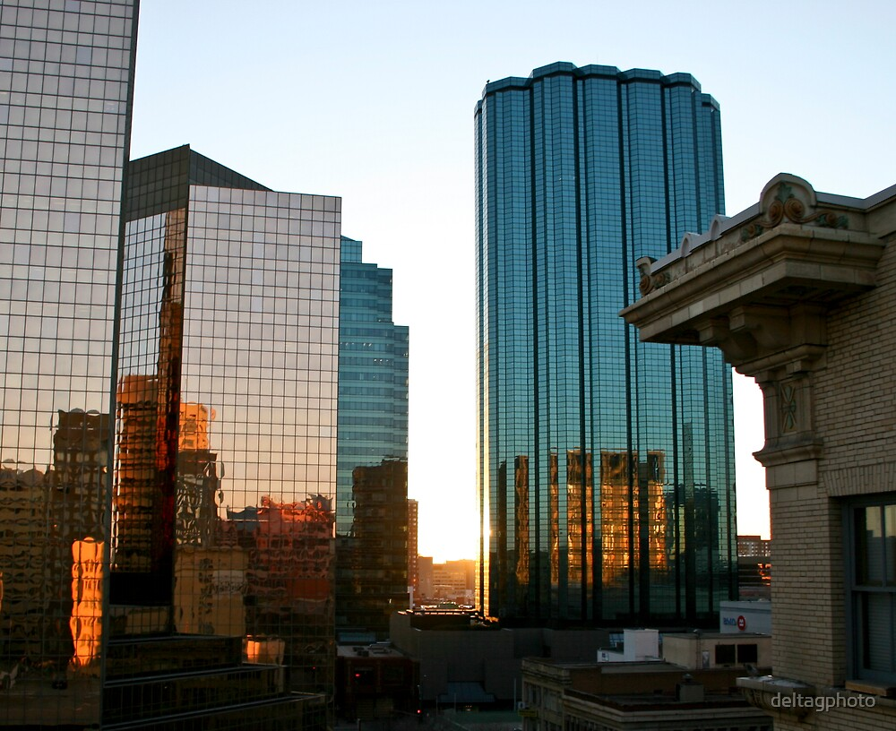 Sunset in the City by deltagphoto