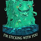 Geeky DnD Monster Slime Cube   Geeky Love and Friendship by PathOfPixels