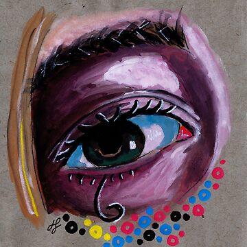 """eye study #2"" by JLavallee-Art"