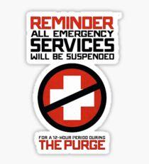 PURGE Sticker