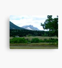 Alberta Foothills Canvas Print
