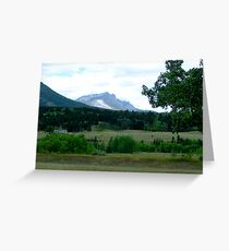 Alberta Foothills Greeting Card