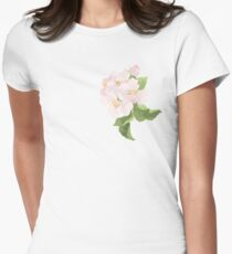 Apple Blossom Women's Fitted T-Shirt