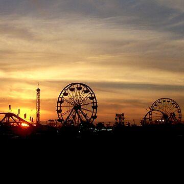 SC State Fair at Sunset I by ZeroAlphaActual