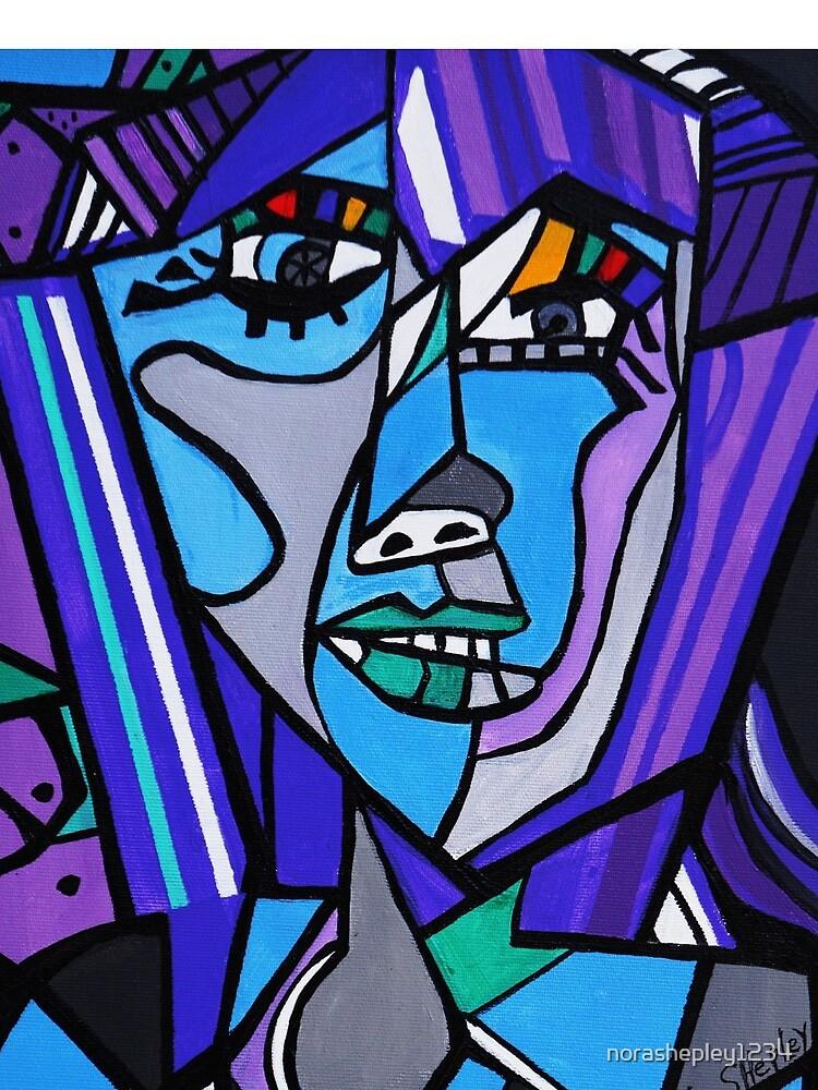 ART DECO PICASSO VON NORA von norashepley1234