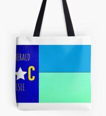 Nautical NC flag     (Emerald Isle, NC) Tote Bag