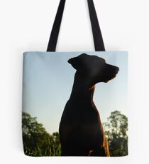 Last walk of the day Tote Bag
