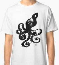 Octopus - Fusion of pen strokes Classic T-Shirt