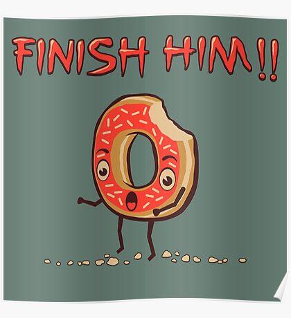 Finish Him! Poster