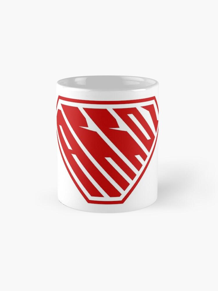 Alternate view of Arroz SuperEmpowered (Red) Classic Mug
