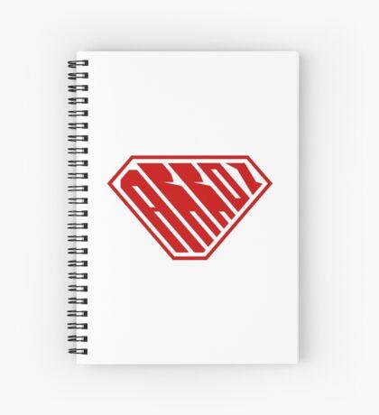 Arroz SuperEmpowered (Red) Spiral Notebook