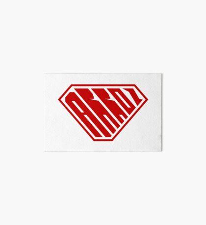 Arroz SuperEmpowered (Red) Art Board Print