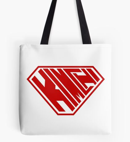 Kimchi SuperEmpowered (Red) Tote Bag
