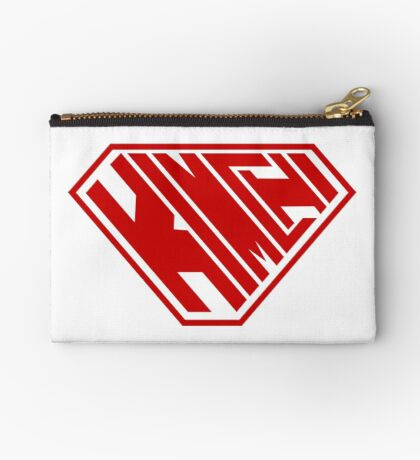 Kimchi SuperEmpowered (Red) Zipper Pouch
