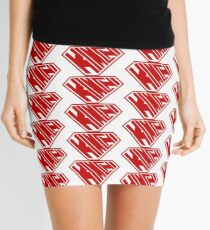 Kimchi SuperEmpowered (Red) Mini Skirt