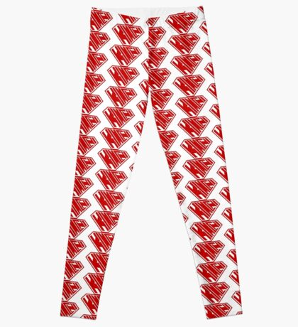 Kimchi SuperEmpowered (Red) Leggings