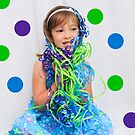 Poka Dots and Ribbons by Leta Davenport