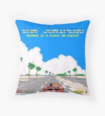 Black Mirror / San Junipero / Out Run Throw Pillow