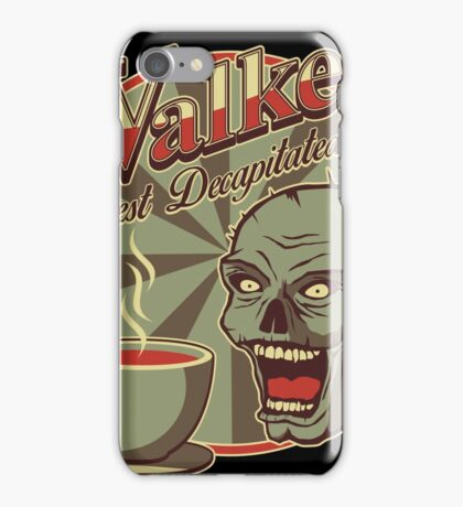 Walker's Decap Coffee iPhone Case/Skin