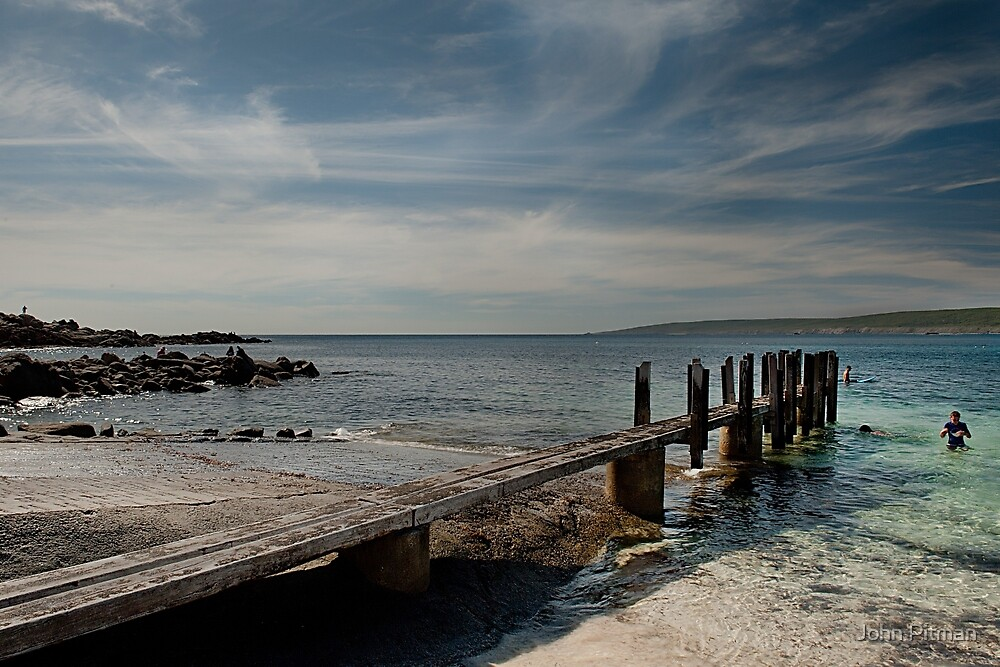 The Jetty by John Pitman