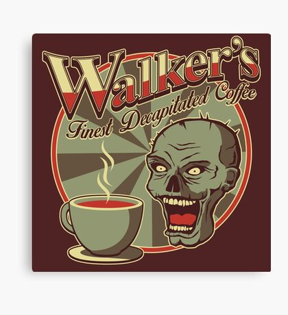 Walker's Decap Coffee Canvas Print