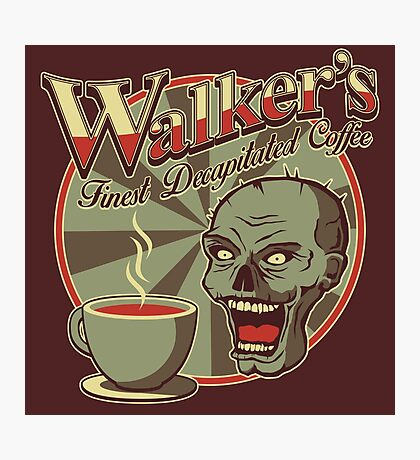 Walker's Decap Coffee Photographic Print