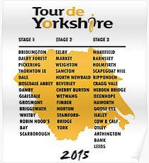 Tour de Yorkshire 2015 Tour Poster
