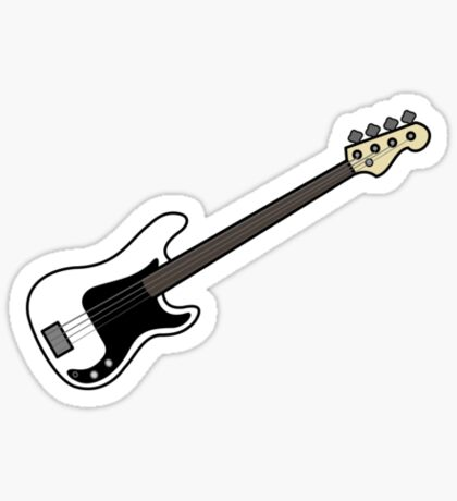 Precision Bass Sticker