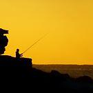 Fishing at Dawn by Of Land & Ocean - Samantha Goode