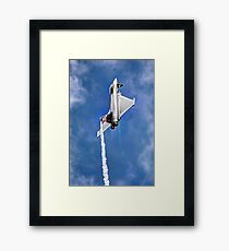 Eurofighter Typhoon - Venting ! - Farnborough 2014 Framed Print