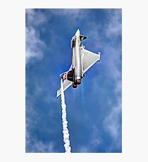 Eurofighter Typhoon - Venting ! - Farnborough 2014 Photographic Print