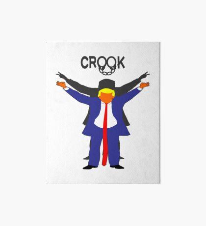 Crook Trump Art Board