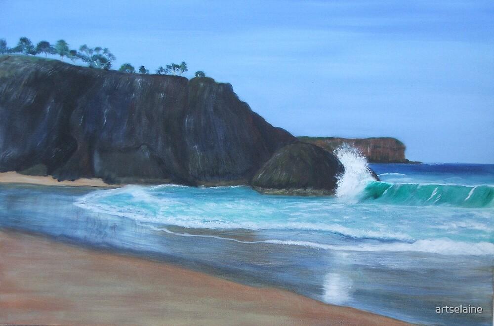 Dreamtime Beach by artselaine