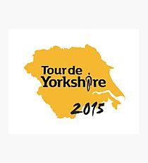 Tour de Yorkshire 2015 Photographic Print