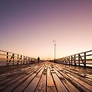 Shorncliffe Pier After the Rain by Greg Carlill