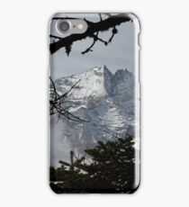 Mountains Through the Trees iPhone Case/Skin